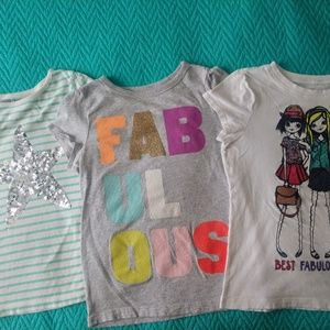 Other - 8 girls shirts size 7/8